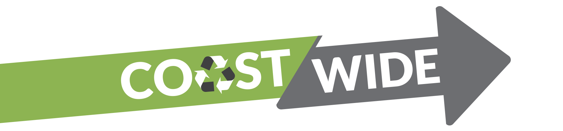 Coast Wide Skip Services arrow logo